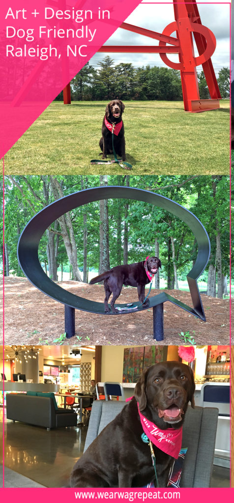 Art and Design in Dog Friendly Raleigh, NC