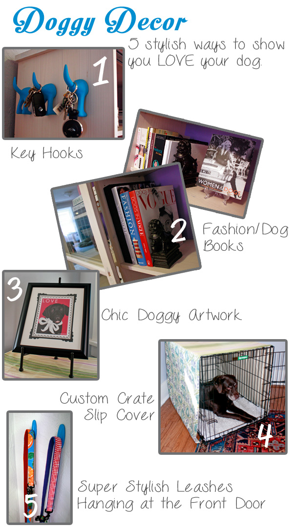 5 ways to show off your dog decor