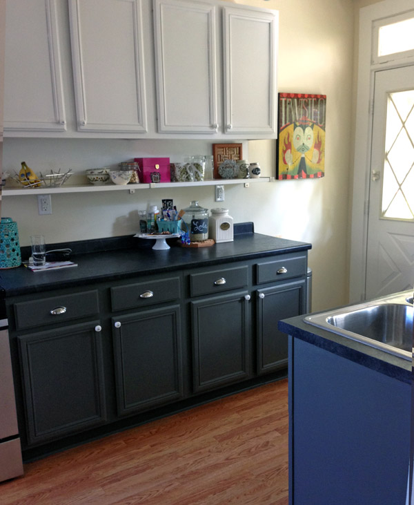 diy small kitchen updates wear wag repeat