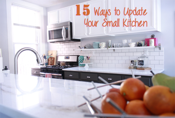 15 Ways to Update Your Small Kitchen