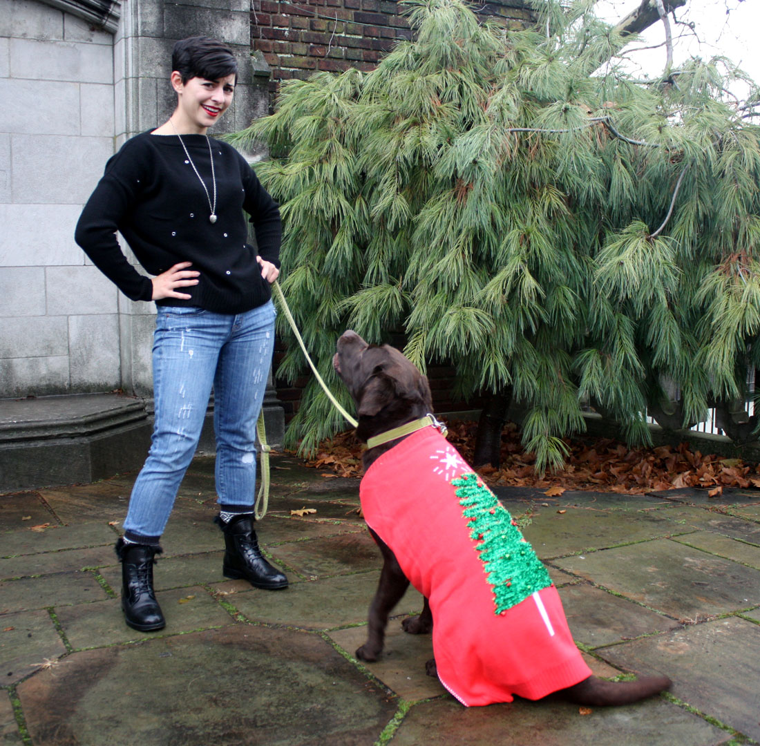 TGIF: It's an Ugly Sweater Pawty for Dogs