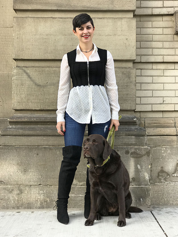 Yes, You Can Dress up To Walk the Dog!