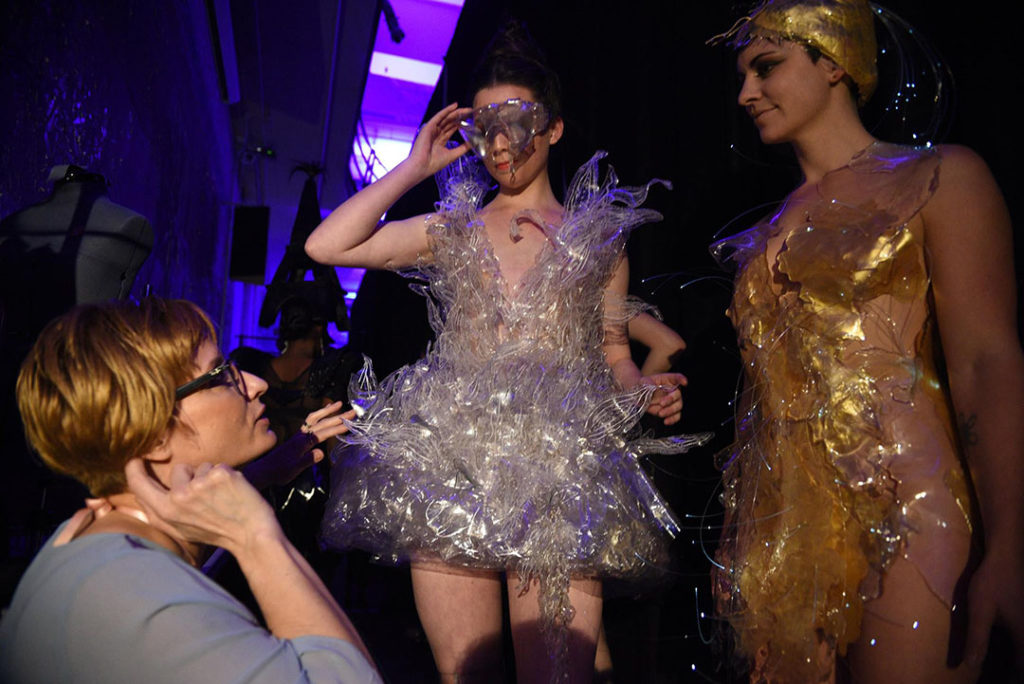 Material Worlds Fashion Show with Memphis George