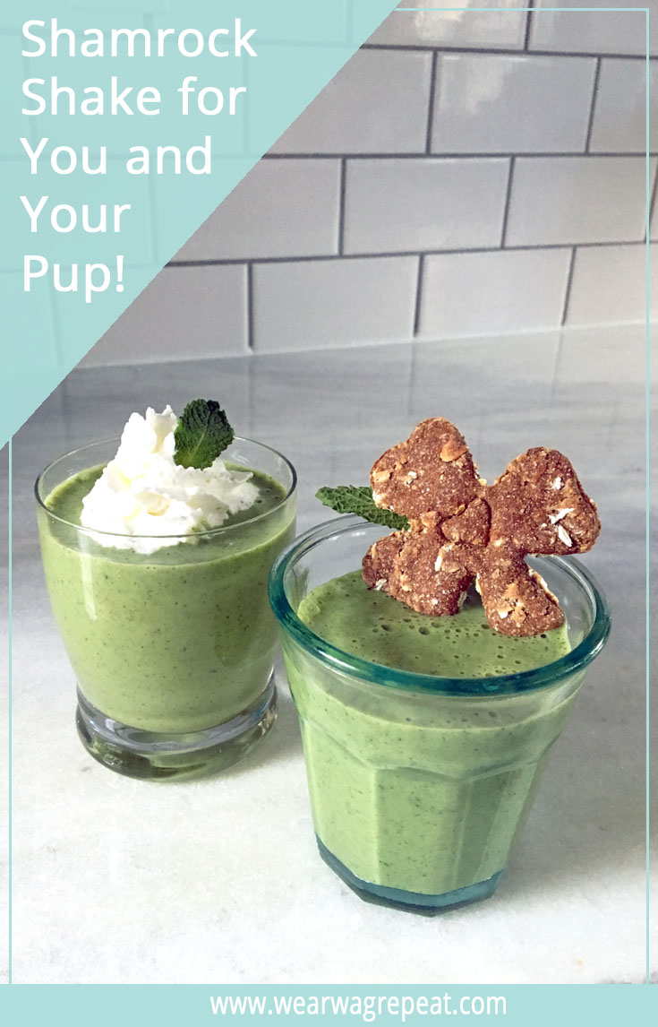Healthy Shamrock Shake Recipe