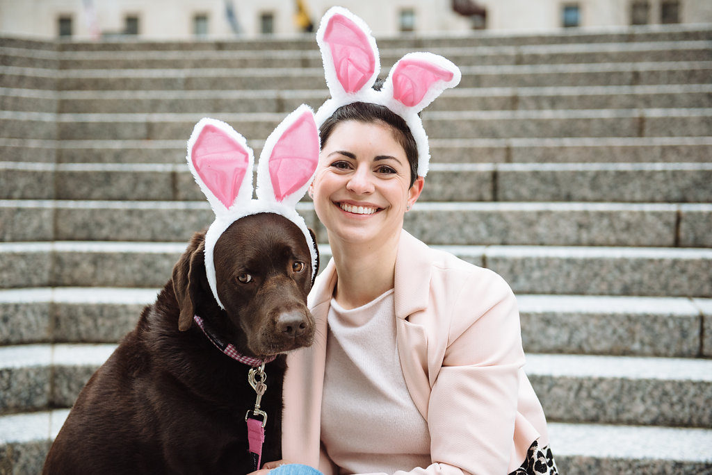 Here Comes Lucy Cotton Tail | Happy Easter!