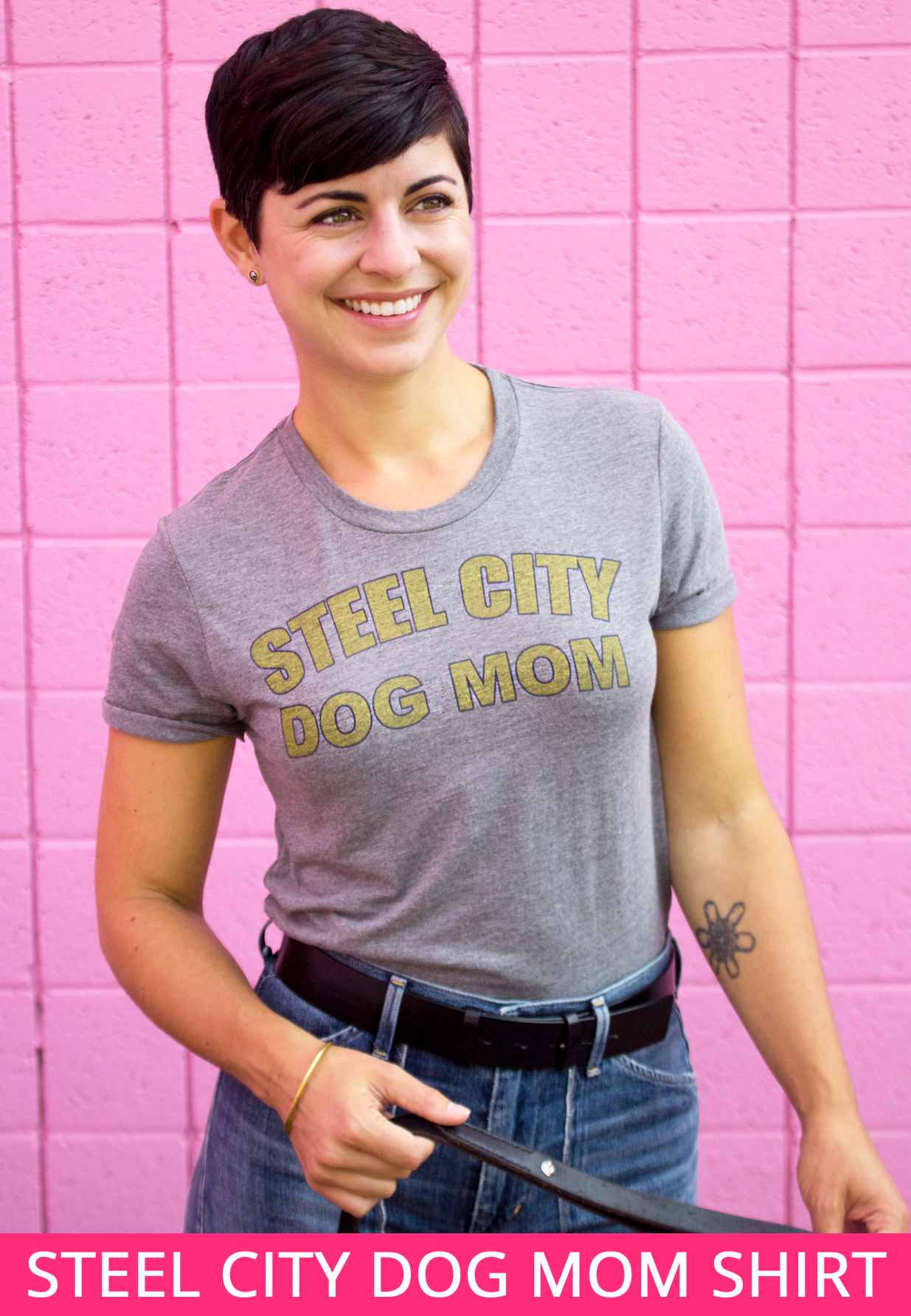 Steel City Dog Mom Shirt