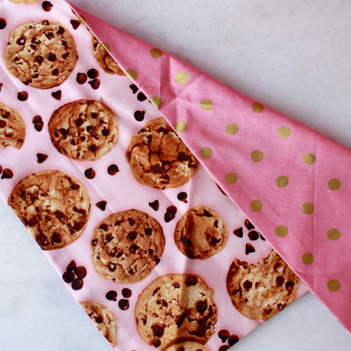 Chocolate Chunk Cookie Bandana