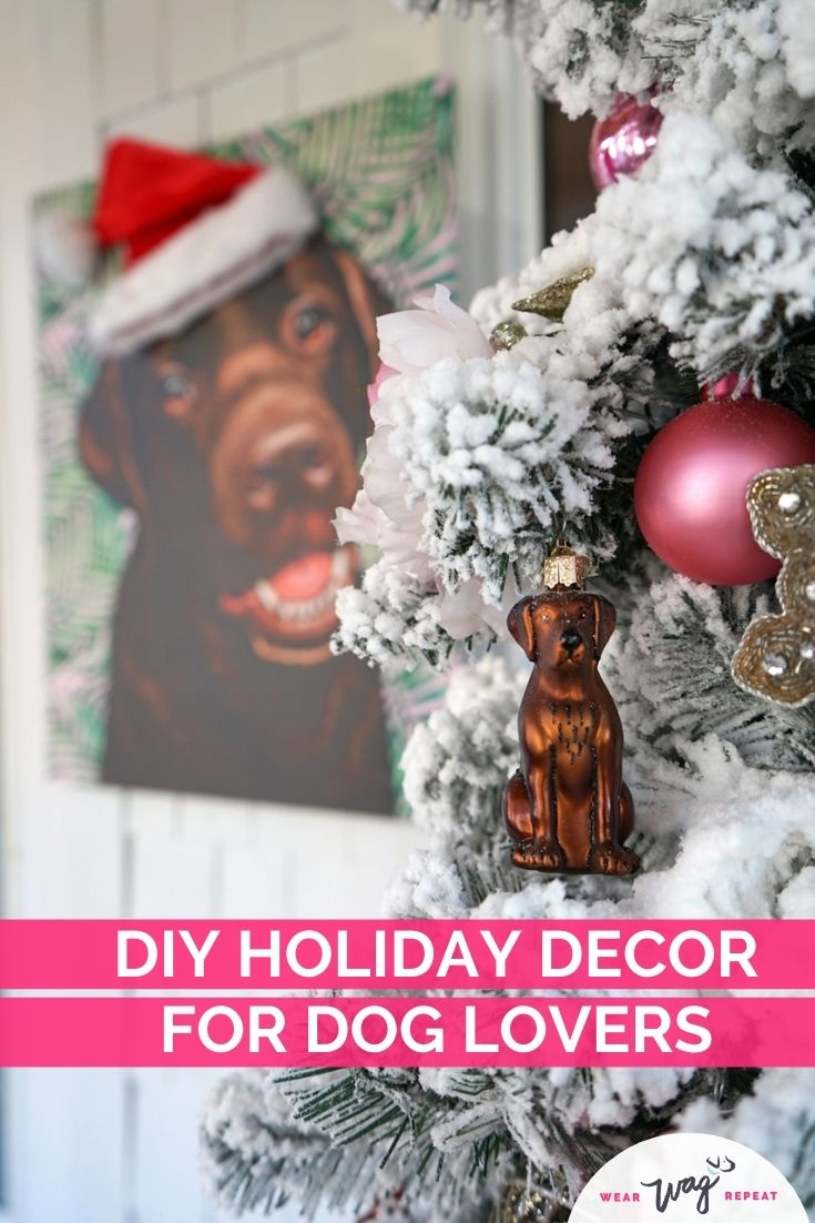 diy holiday decor for dog lovers