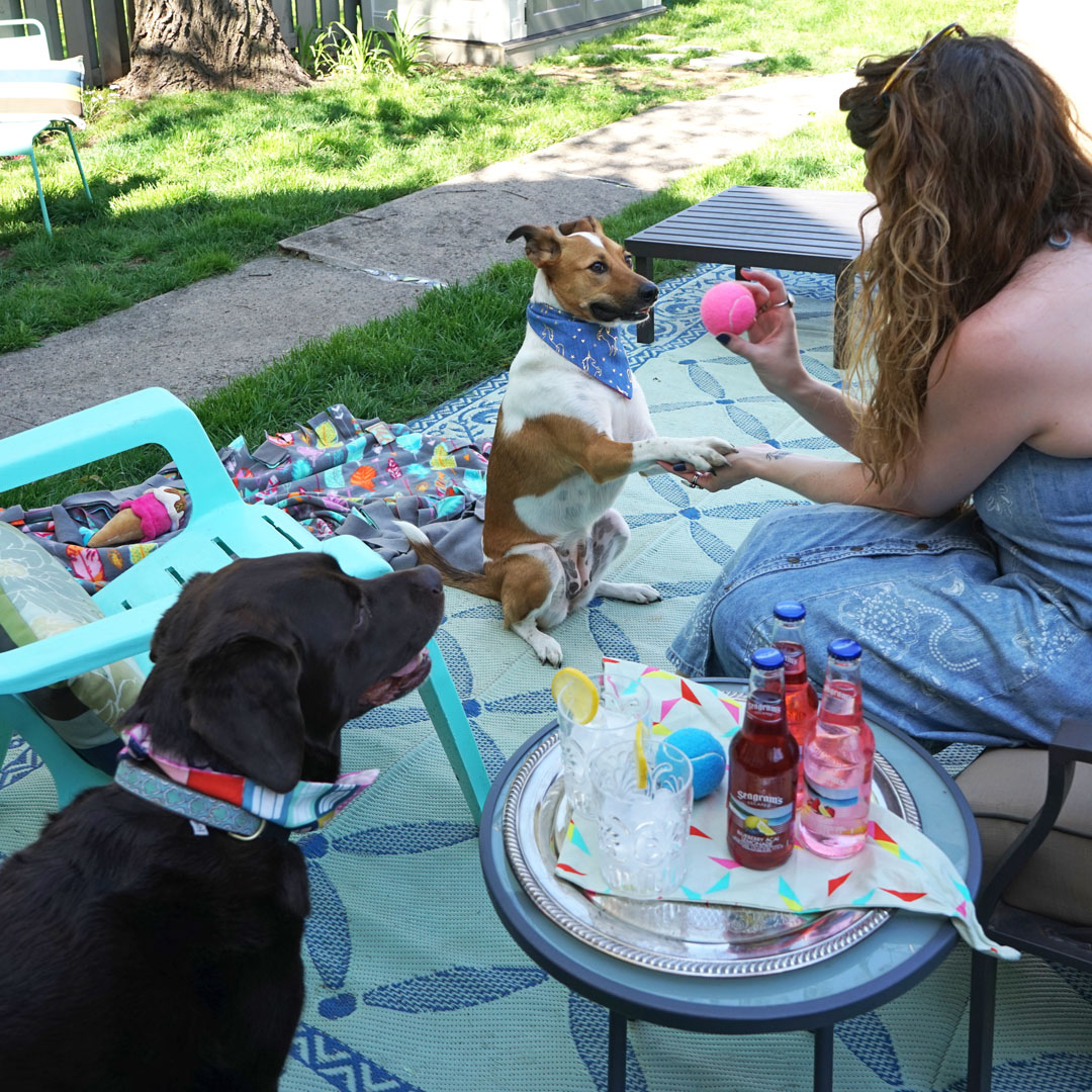 Dog Mom's Day with Seagram's Escapes