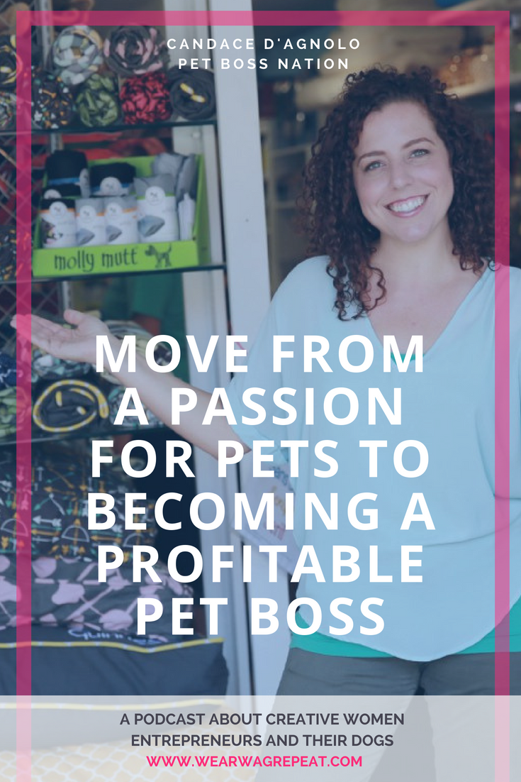 Podcast Episode 23: Candace D'Agnolo of Pet Boss Nation