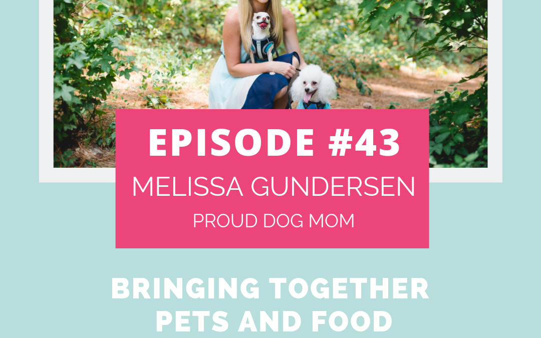 Podcast Episode 43: Bringing Together Pets And Food with Melissa Gundersen of Proud Dog Mom