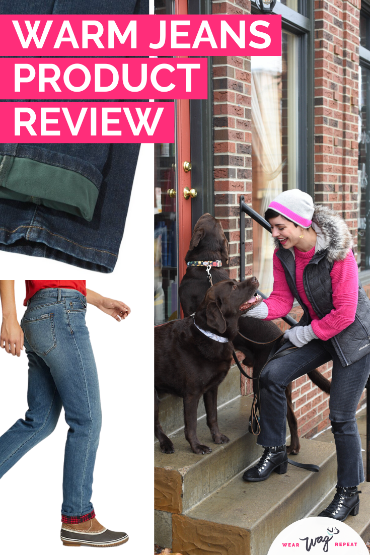 warm jeans product review