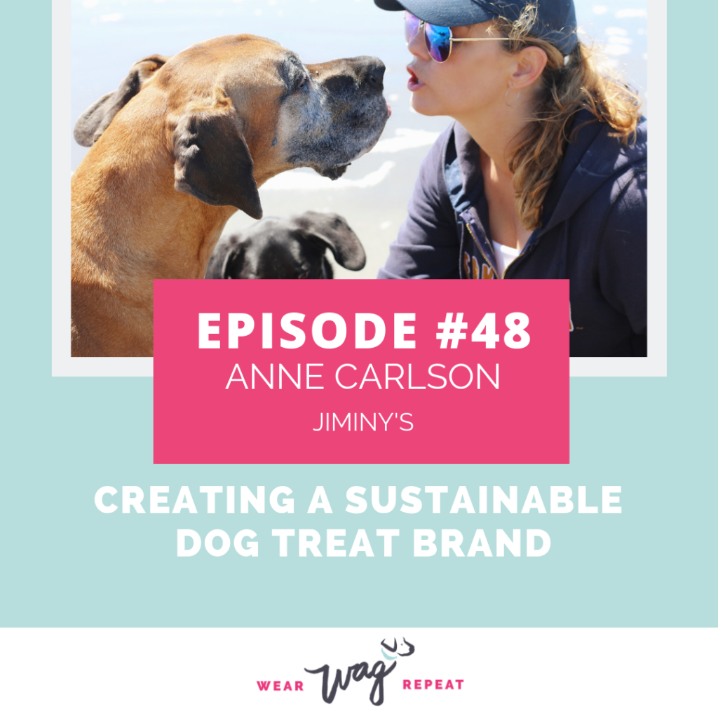 PodcastEpisode48CreatingaSustainableDogTreatBrandWithAnneCarlsonofJiminys