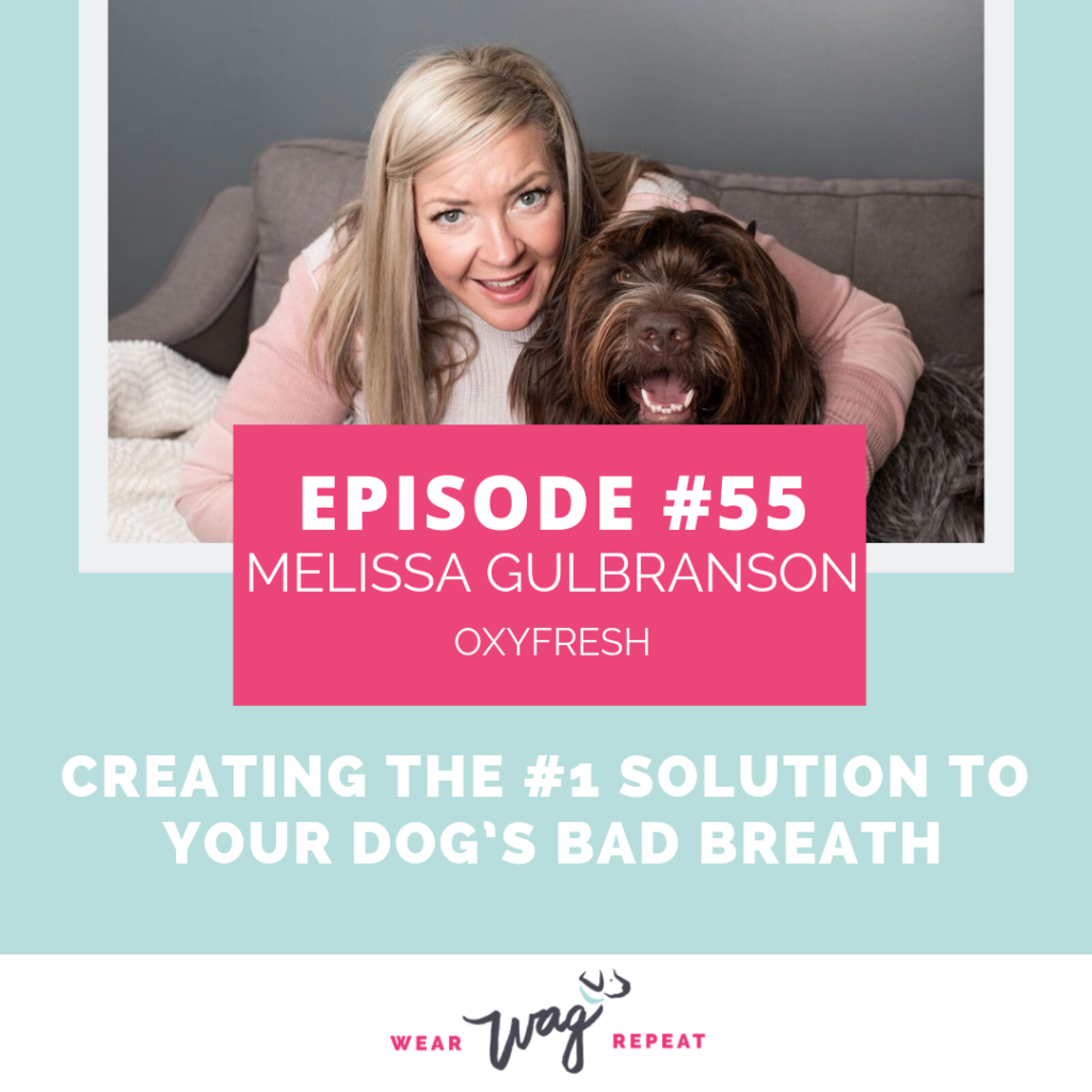 PodcastEpisode55CreatingTheNumberOneSolutiontoYourDog'sBadBreathWithMelissaGulbrandonofOxyfreshPet