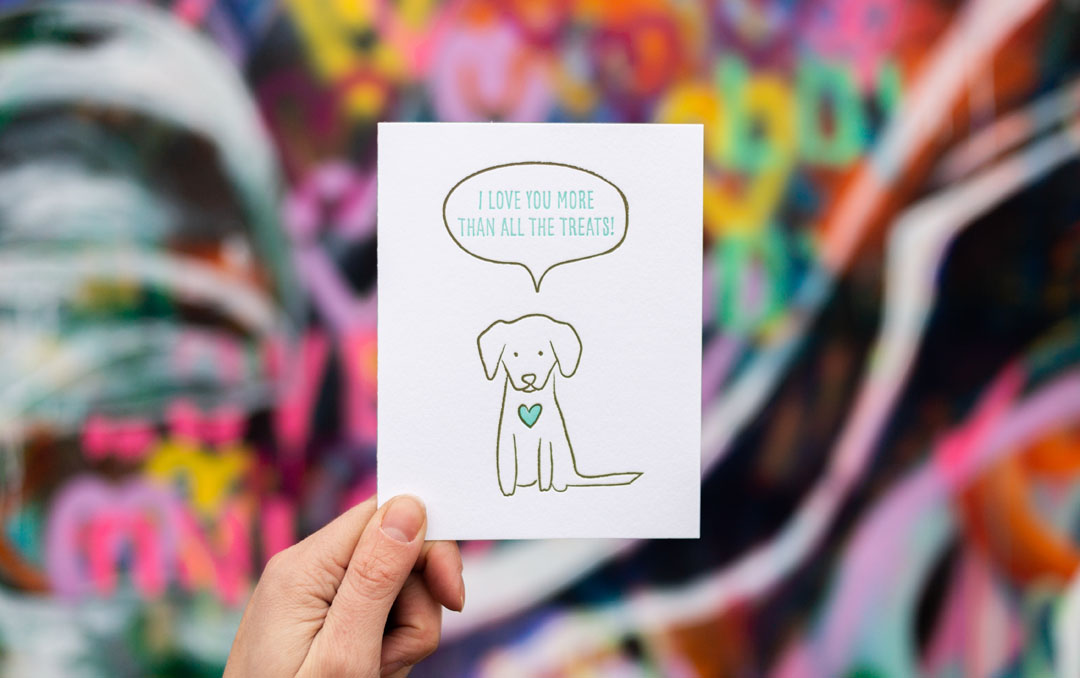 Dog Mom's Day Cards