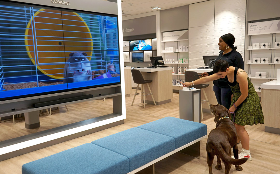Keep tabs on your pet at home with Xfinity Home Security cameras