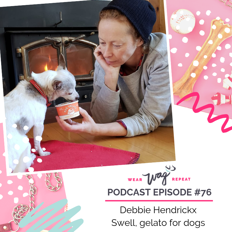Debbie Hendrickx Swell gelato for Dogs interview