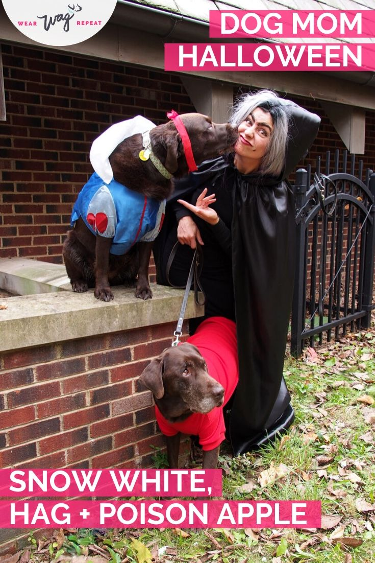 Dog Mom Halloween: Snow White and the Evil Hag