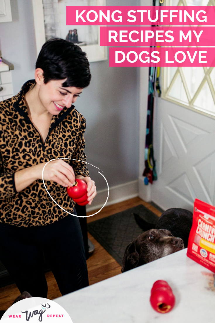 kong stuffing recipes my dogs love