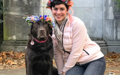 How to Make a Flower Crown For Your Dog (and Yourself!)
