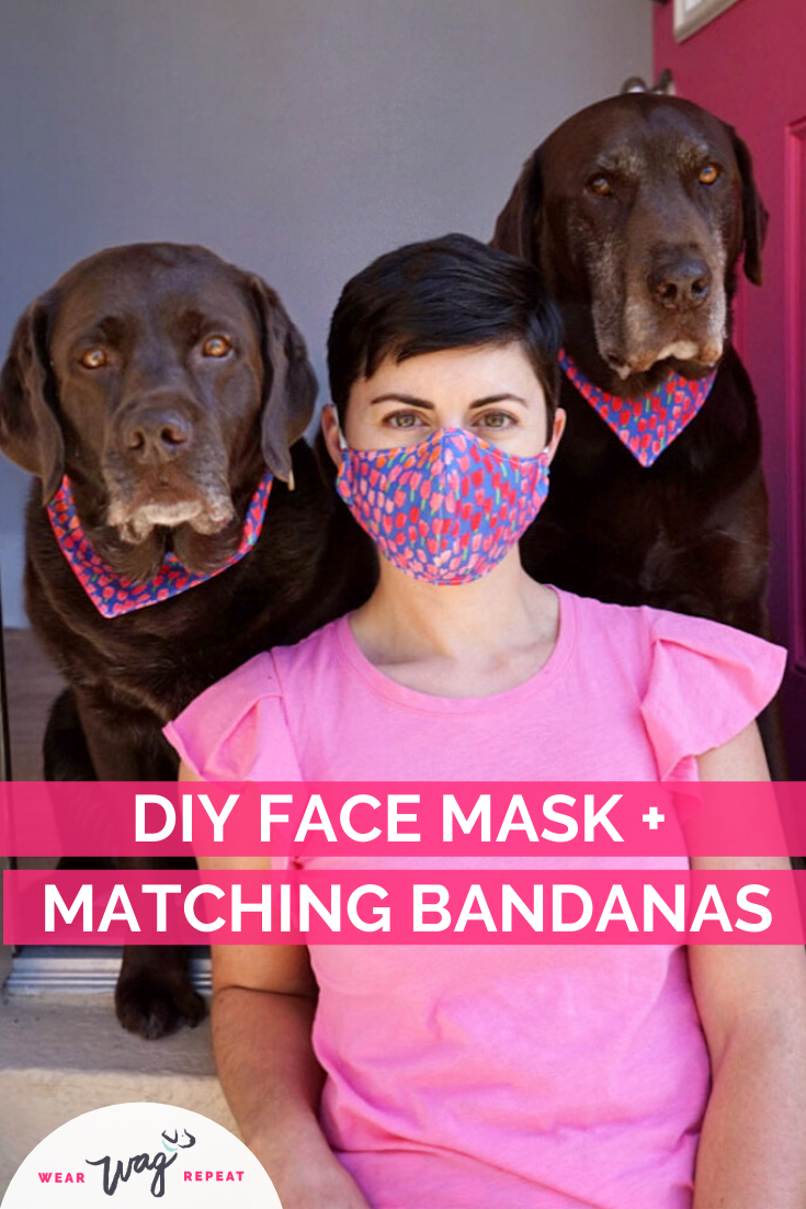 DIY face mask and matching bandans