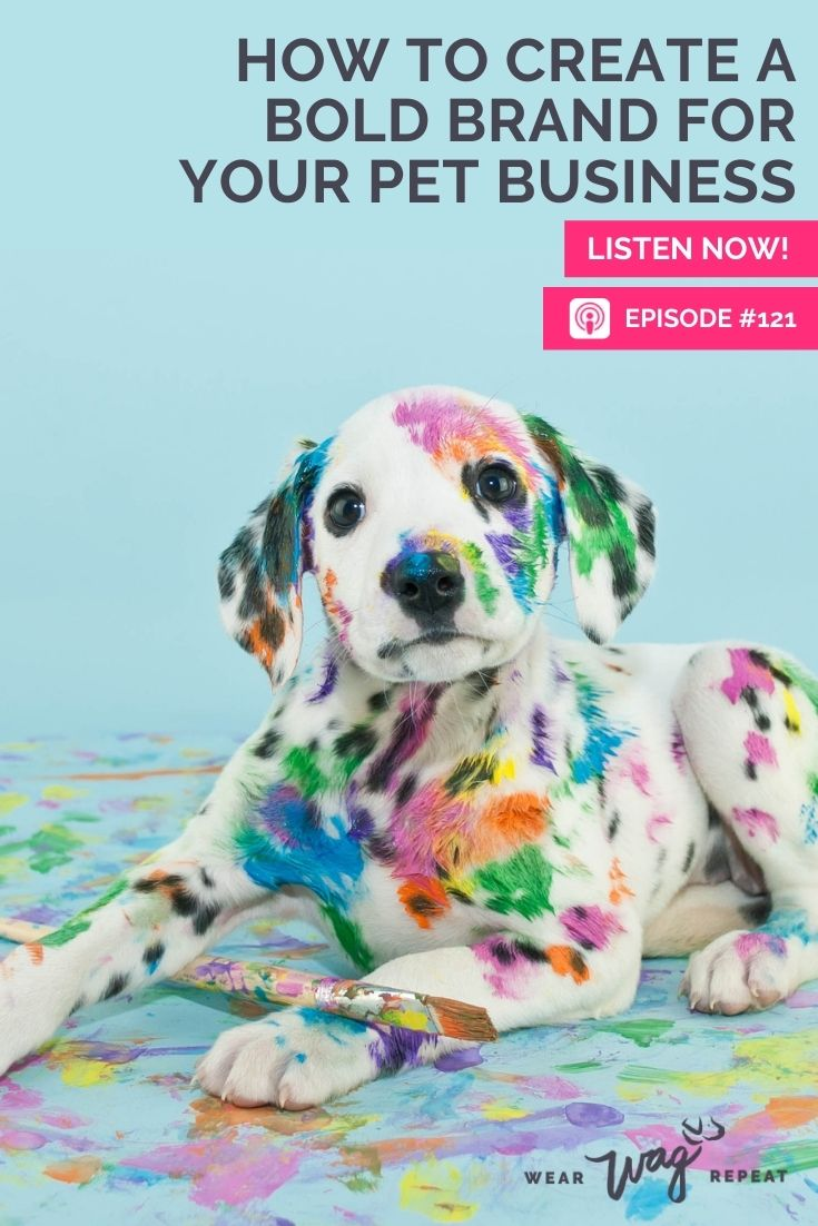 create a bold brand for pet business