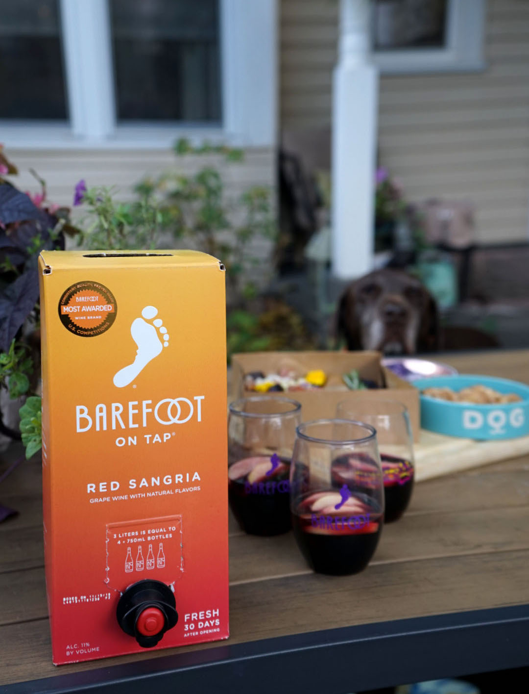 Barefoot on tap Red Sangria