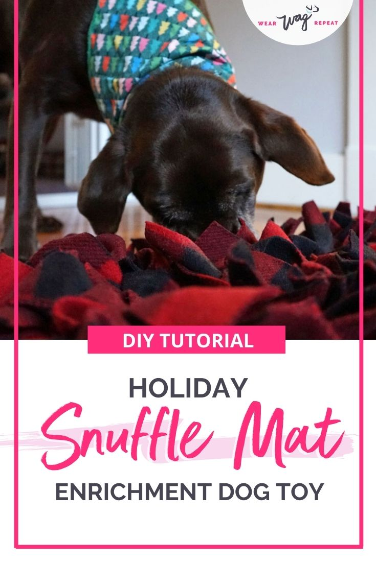 DIY tutorial Snuffle Mat