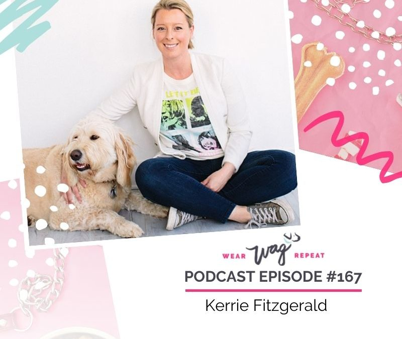 Podcast Episode 167: Secrets of Growing a 6-Figure Pet Product Business with Kerrie Fitzgerald