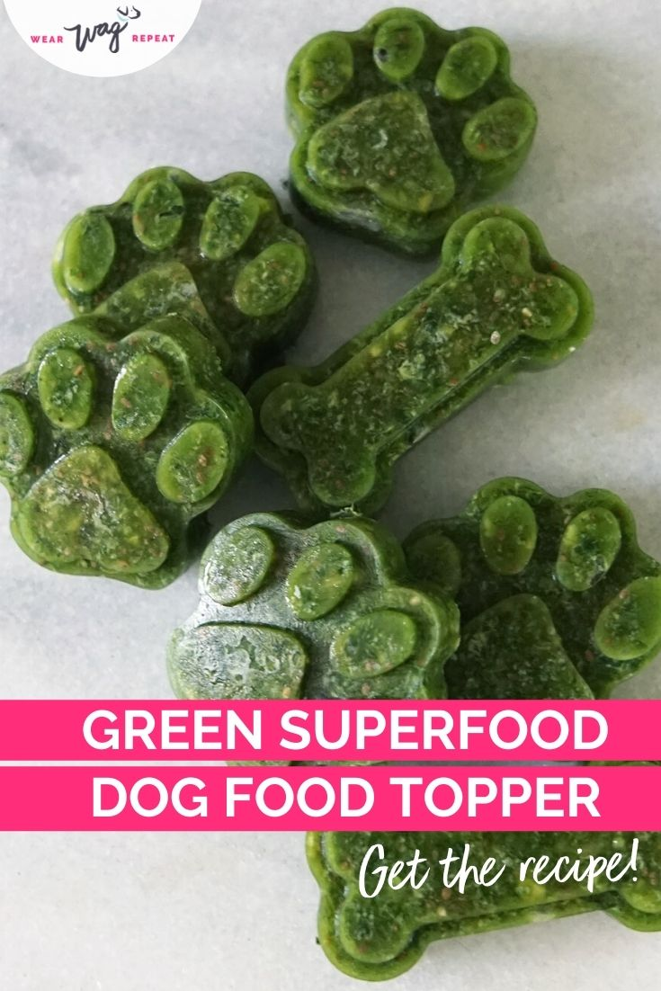 Green Superfood Topper for Dogs Recipe
