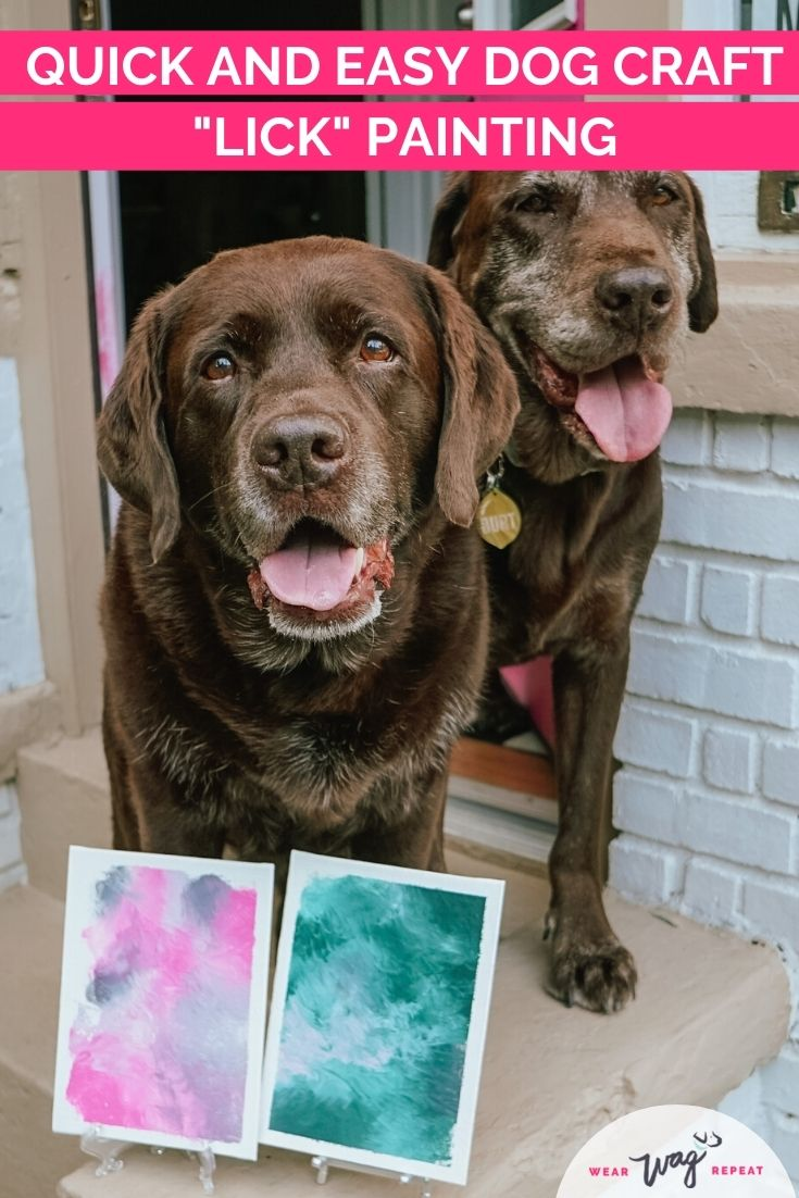easy dog painting